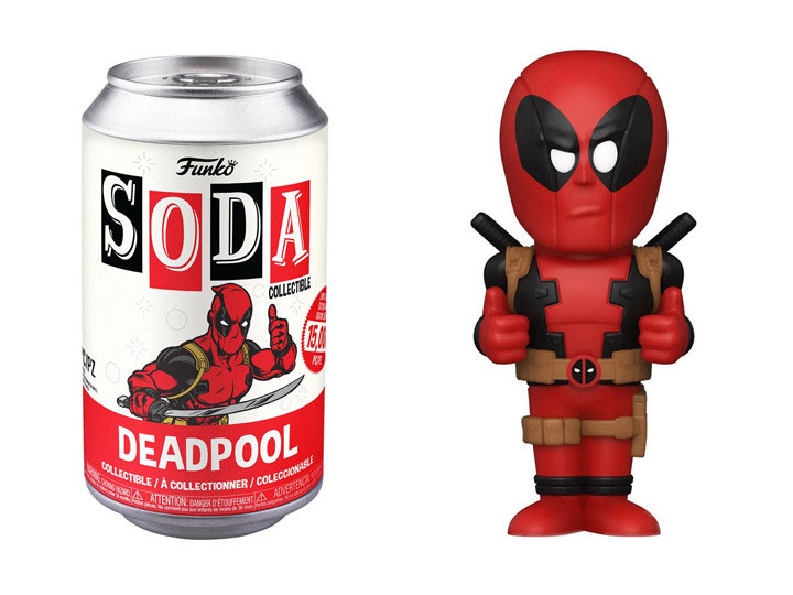 Funko - Deadpool - Deadpool (with chase) Vinyl Soda*