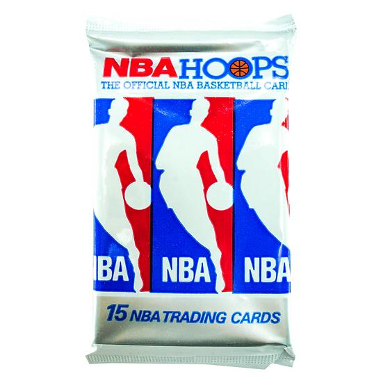 Retro NBA Hoops 1990-91 Series 1 Collector Cards