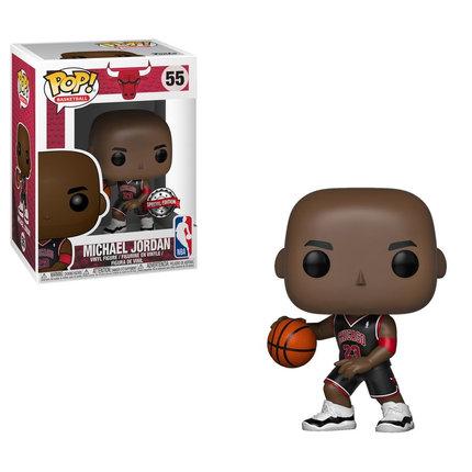 POP! Vinyl NBA: Bulls - Michael Jordan (Black Uniform) US Exclusive 55