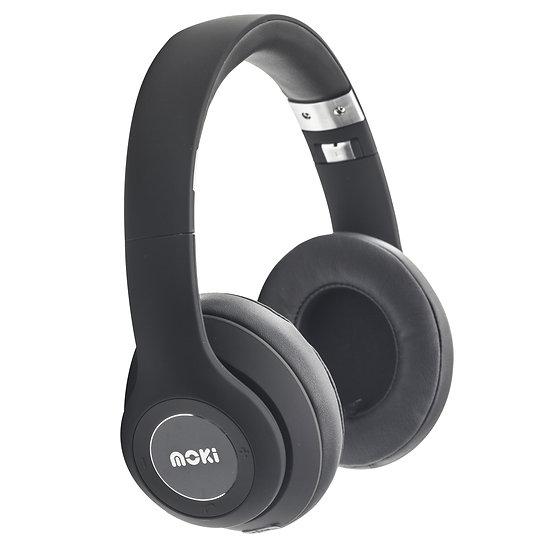 Moki Katana Bluetooth Headphones - Black