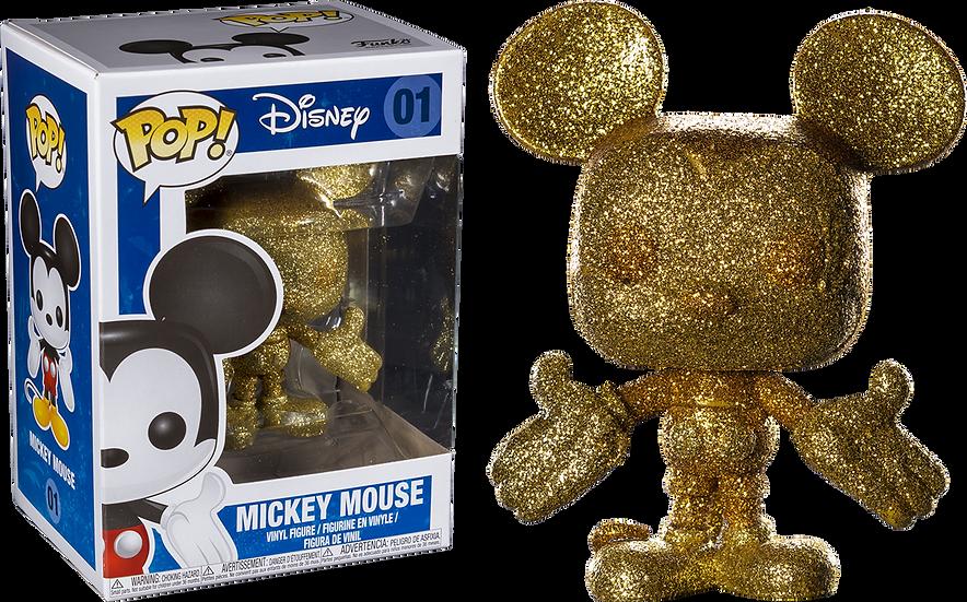 POP! Vinyl Mickey Mouse Gold Diamond Glitter 01
