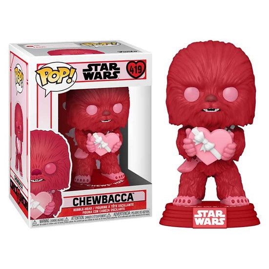 POP! Vinyl  Starwars:  Chewbacca Valentines Day