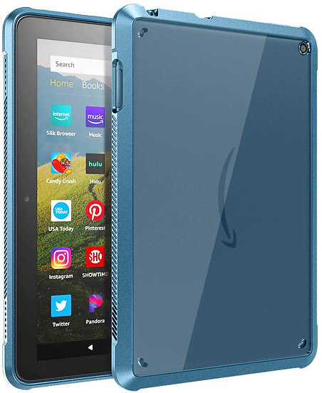 TiMOVO Case for Fire HD 8 Tablet and Fire HD 8 Plus Tablet - Blue