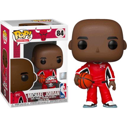 POP! Vinyl NBA: Bulls - Michael Jordan Red Warm-Ups US Exclusive 84
