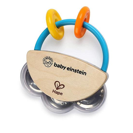 Baby Einstein Tiny Tambourine Wooden Musical Toy
