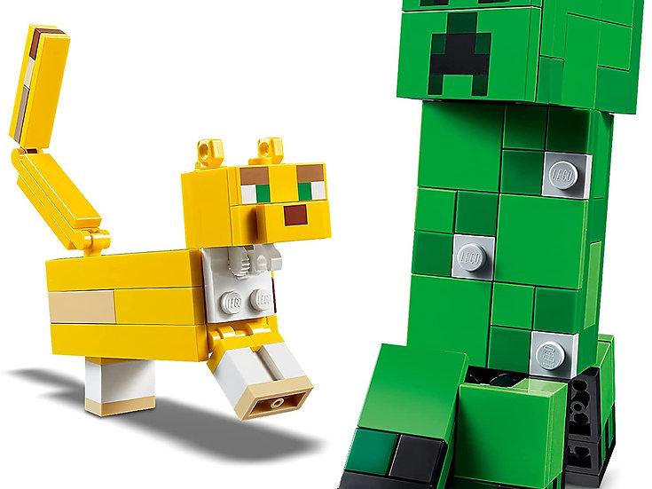 LEGO Minecraft Creeper BigFig and Ocelot 21156