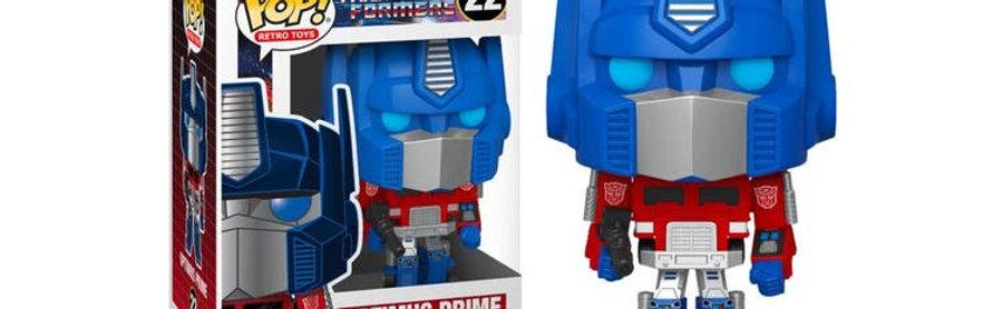POP! Vinyl Transformers - Optimus Prime 22