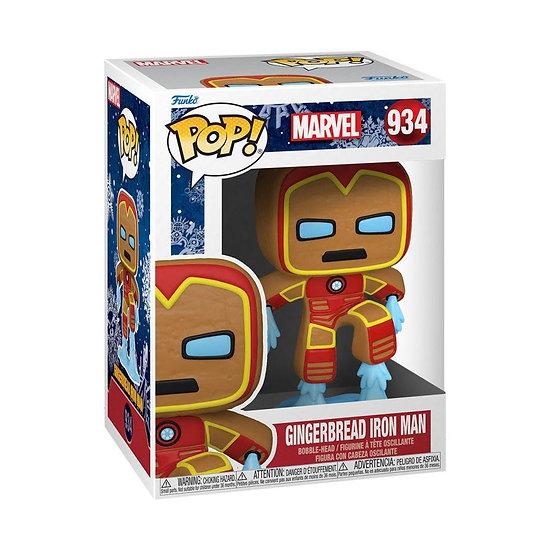 Iron Man - Iron Man Gingerbread Pop!