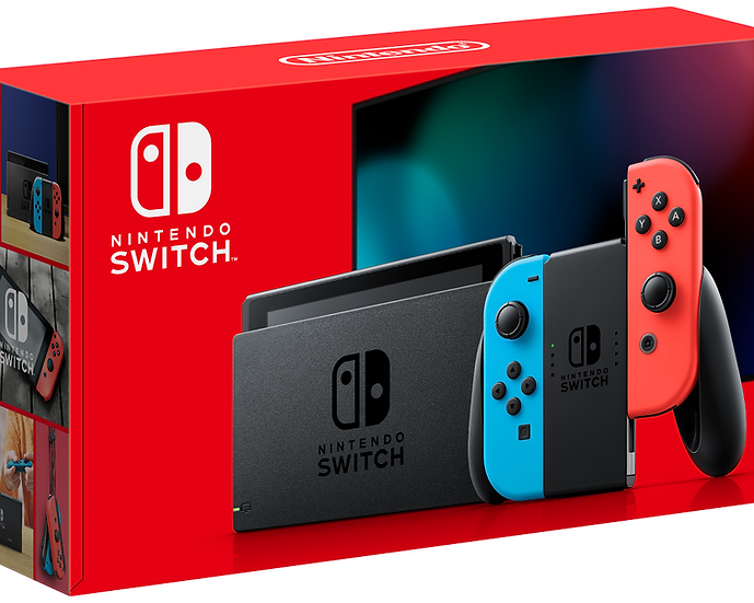 Nintendo Switch Console - Neon Blue/Red