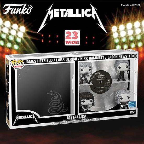 Pop! Vinyl Metallica - Black US Excluisve Pop! Album Deluxe