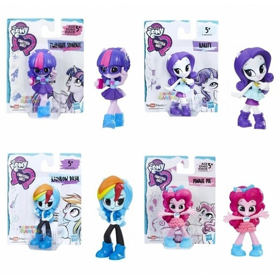 "My Little Pony Equestria Girls 3"" Minis Doll Assorted"