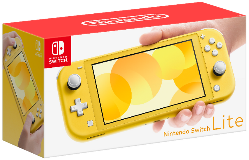 **Nintendo Switch Lite Console - Yellow