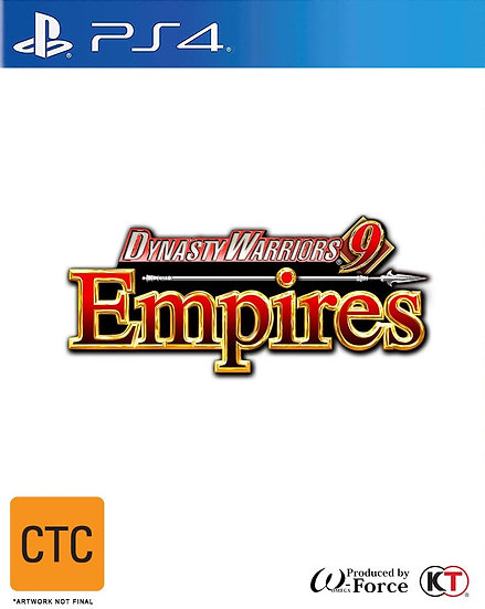 PS4 Dynasty Warriors 9 Empires