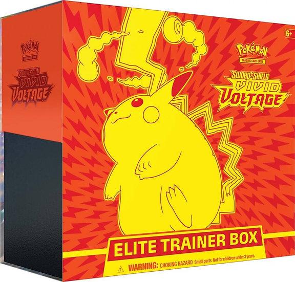 POKÉMON TCG Sword and Shield- Vivid Voltage Elite Trainer Box