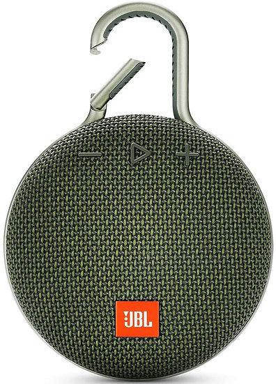 JBL CLIP 3 - Waterproof Portable Bluetooth Speaker - Green