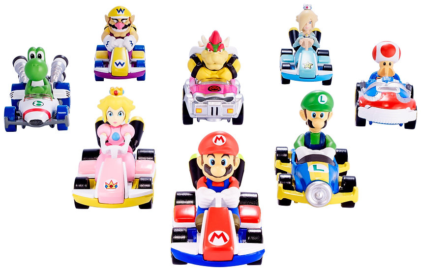 Hot Wheels Mario Kart assorted