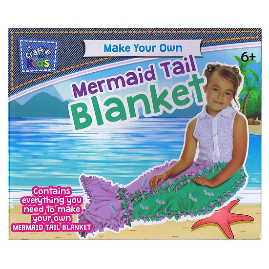 Make Your Own Mermaid Tail Blanket