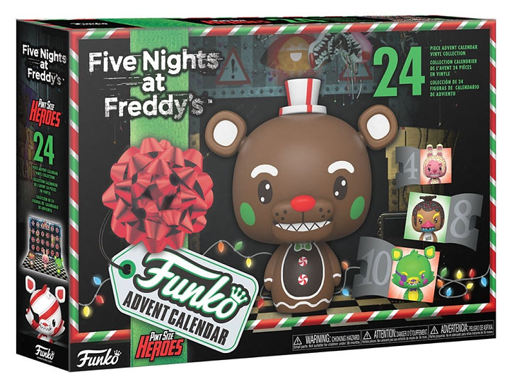 Five Nights at Freddy's - Black Light Pint Size Heroes Advent Calendar