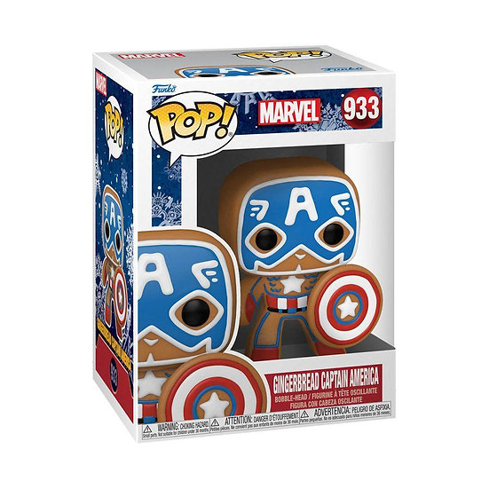Captain America - Captain America Gingerbread Pop!
