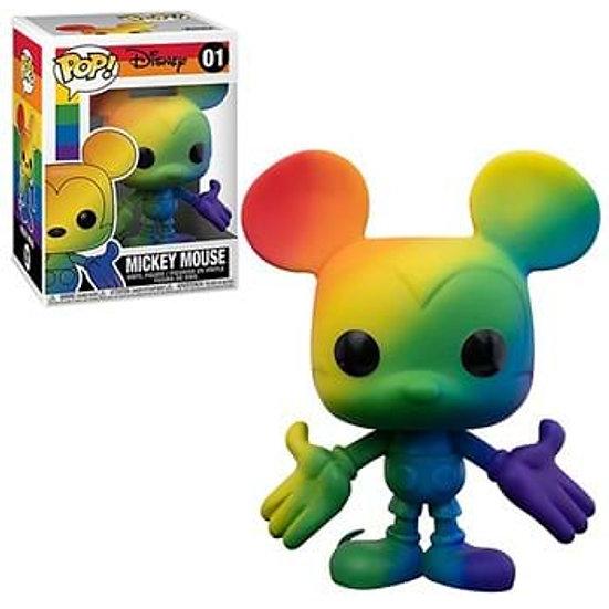 POP! Vinyl Mickey Mouse Rainbow Pride 01