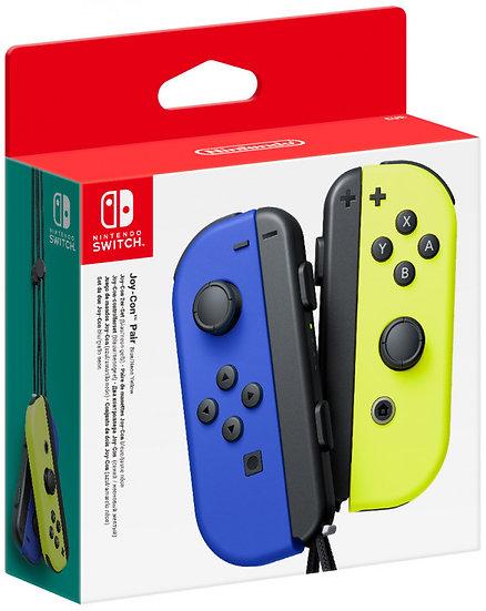 **Nintendo Switch Joy-Con Pair (Neon Blue/Neon Yellow)