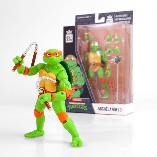 """Michelangelo (Teenage Mutant Ninja Turtles) BST AXN 5"""" Action Figure"""