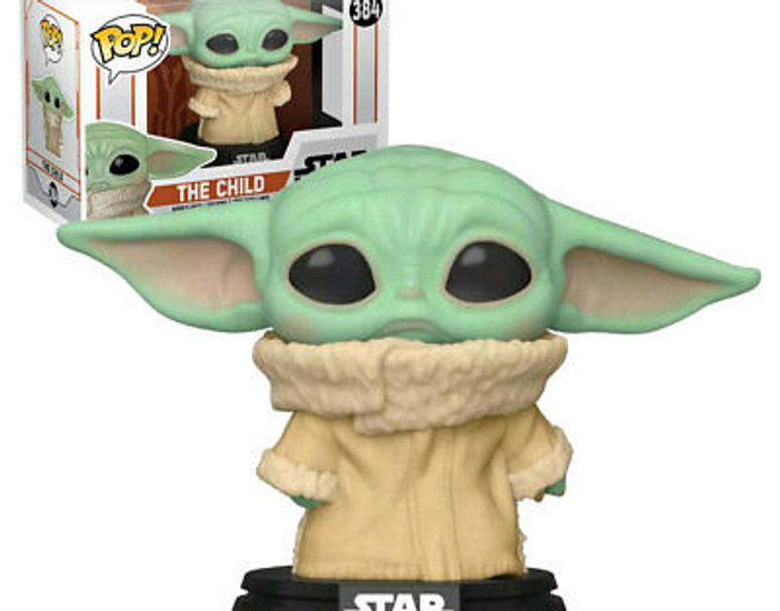 POP! Vinyl Star Wars: The Mandalorian - The Child Concerned US Exclusive 384