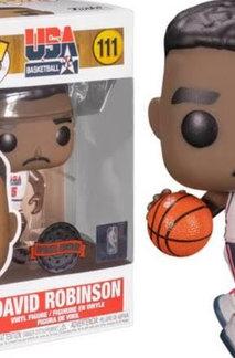 POP! Vinyl NBA: Legends - David Robinson 92 Team USA US Exclusive #111