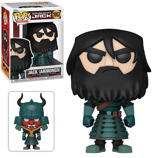 Samurai Jack - Jack Armored Pop! (with chase*)
