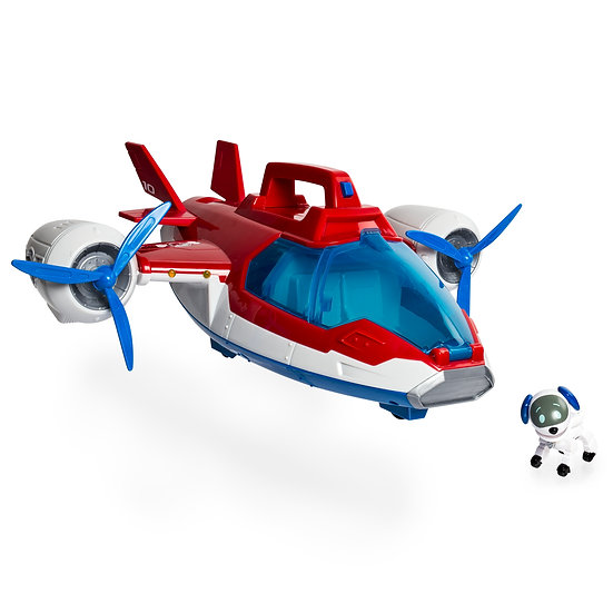 Paw Patrol, Lights and Sounds Air Patroller Plane with Robo Dog