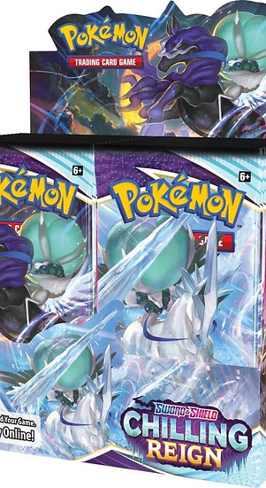 Pokemon TCG Sword and Shield 6 - Chilling Reign Booster