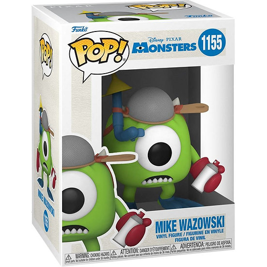 Funko Pop! Vinyl  Monsters Inc - Mike with Mitts 20th Anniversary