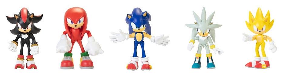 "Sonic the Hedgehog- 2.5"" Checklane Figures"