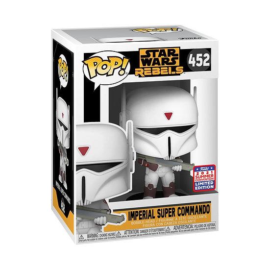 Pop! Vinyl FunKon 2021 Star Wars: Rebels - Imperial Super Commando