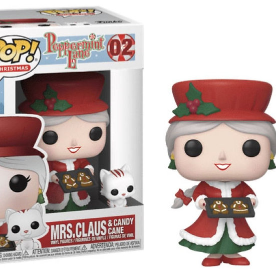 POP! Vinyl Peppermint Lane - Mrs Claus 02