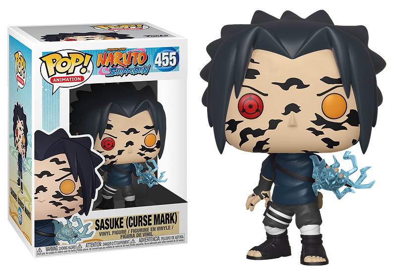 POP! Vinyl Naruto Shippuden - Sasuke Curse Mark US Exclusive #455
