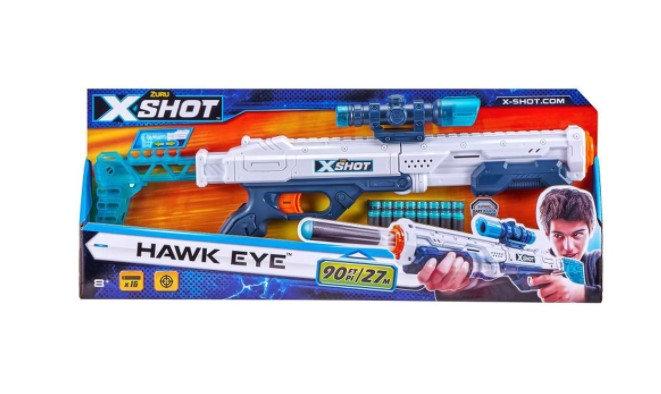 Zuru XSHOT Excel - Hawk Eye Dart Shooter