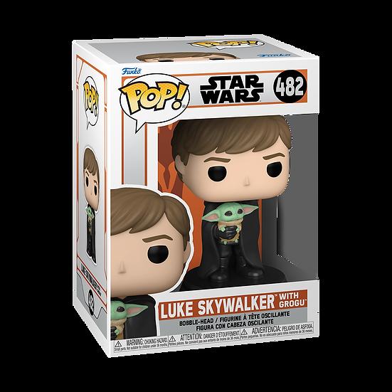 Pop! Vinyl Star Wars: The Mandalorian - Luke with Child Pop! Vinyl