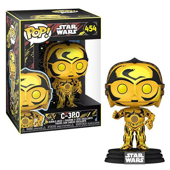 Pop! Vinyl Star Wars - C-3PO Retro Series US Exclusive Pop!