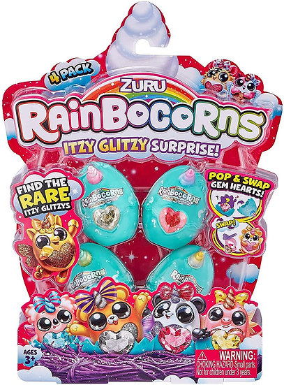 Rainbocorns Itzy Glitzy Surprise 4Pk