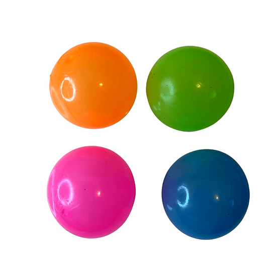 Glow in the Dark Globbles Sticky Ball 4 Pack