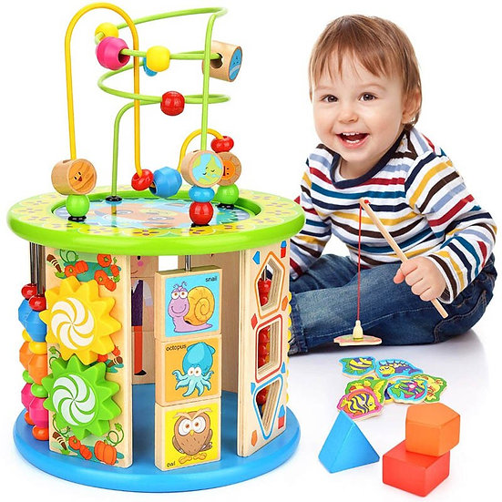 Lots to Learn, 10 in 1 Activity Cube
