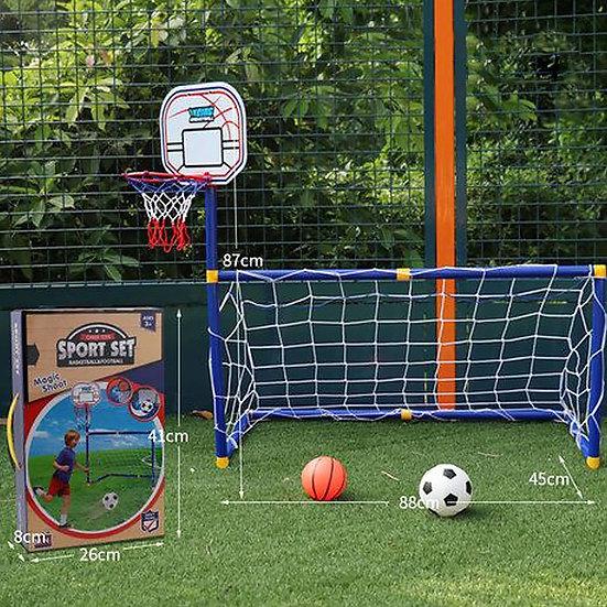 Cheer Toys Mini Basketball & Soccer Set