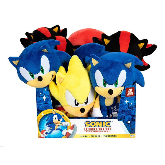 "Sonic the Hedgehog 7"" Basic Plush Assorted"