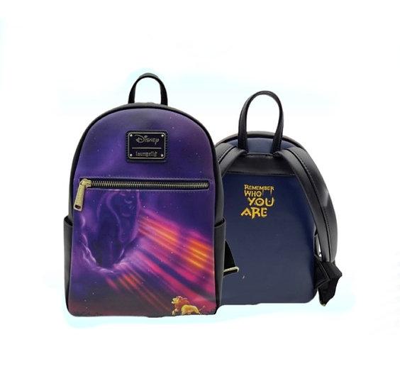 Loungefly -Lion King - Mufasa Scene Backpack Mini Backpack