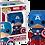 Thumbnail: POP! Vinyl Captain America 06