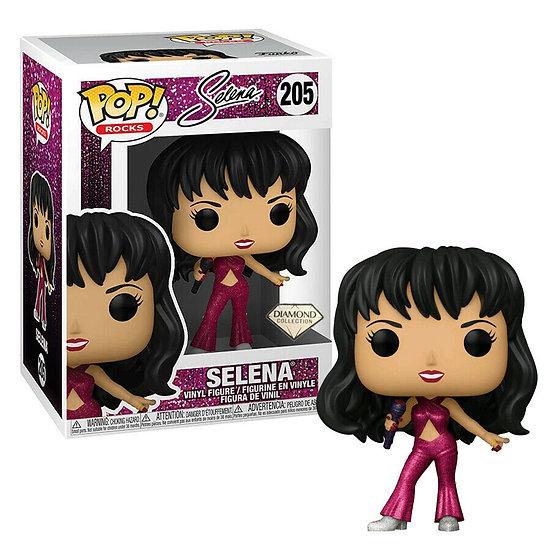 POP! Vinyl Selena - Selena Burgundy Outfit Diamond Glitter US Exclusive 205