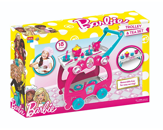 Barbie Tea Party Trolley