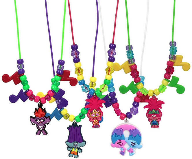 Trolls Necklace Activity Set