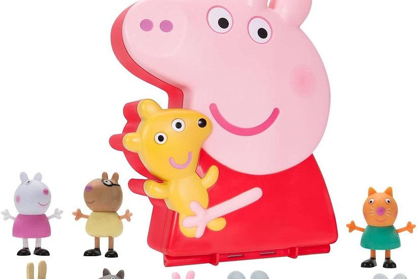 Peppa Pig Carry Along Friend 10 pc